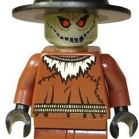 LEGO Batman Minifigure - Scarecrow with Glow in Dark Head (2006)