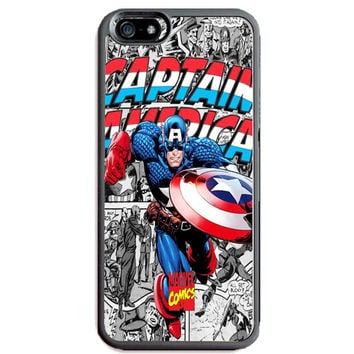 Captain America TPU+PC Case for Apple iPhone 6/6s