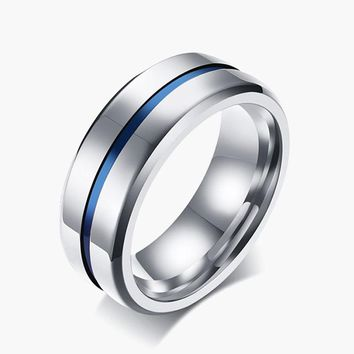 Rainbow Titanium Ring