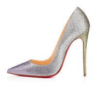 So Kate 120 Drage Glitter - Women Shoes - Christian Louboutin