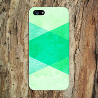 Geometric Green x Blue x Tye Dye Fade Case for iPhone 6 6 Plus iPhone 5 5s 5c iPhone 4 4s Samsung Galaxy s6 s5 s4 & s3 and Note 4 3 2