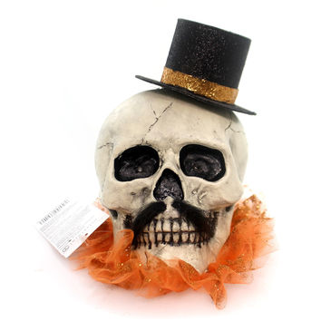 Halloween DANDY LIT SKULL Polyresin Department 56 4052640