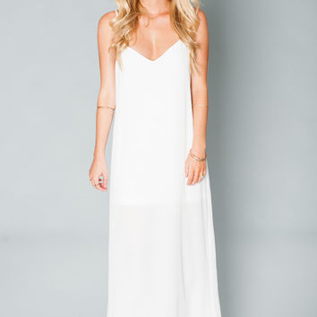 Show Me Your mumu Jolie Maxi Dress ~ Ivory