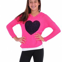 Vintage Havana Heart Printed Pull Over