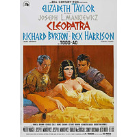 Cleopatra 27x40 Movie Poster (1963)