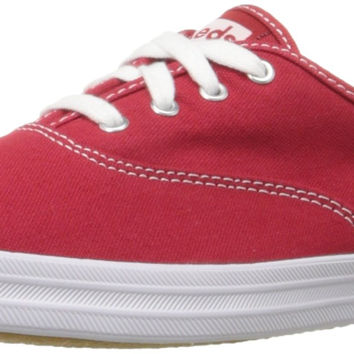 Keds Women's Champion Original Canvas Sneaker Red 12 2A(N) US '