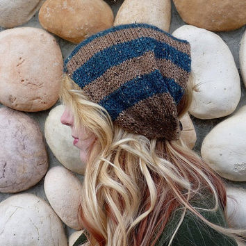 The Naomi ear warmer neck warmer In Jaquard and by Nolie9238