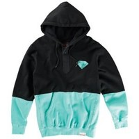 Diamond Supply Co Split Brilliant Henley Hoody - Men's at CCS