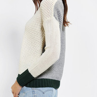 Urban Outfitters - Coincidence & Chance Contrast Slouch Sweater