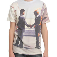 Pink Floyd Wish You Were Here Sublimation Slim-Fit T-Shirt