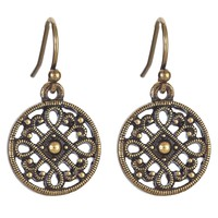 KAI Petite Drop Earrings - Bronze