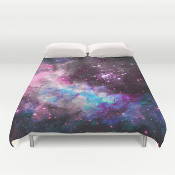 Duvet Cover - 4 different sizes to Choose From, Without Inserts, Bedroom, Home decor, Space, Stars, Cluster, Colorful, Cosmos, Galaxy