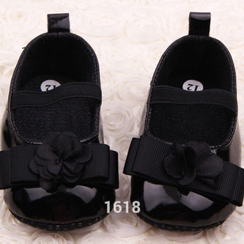 born 3-15M Baby Girl Shoes First Walkers Lovely Sneakers Infant Kids Girls Princess Shoes  SM6