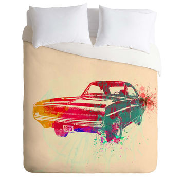 Naxart 1967 Dodge Charger 1 Duvet Cover