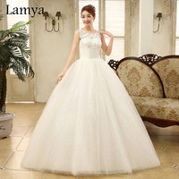 Sexy Lace V Neck Brand Discount Wedding Dress 2016 Fashion Backlass Bridal Gowns Free Shipping vestido de noiva WD2171