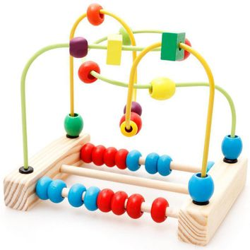 Baby Bead Motor Wooden Toys