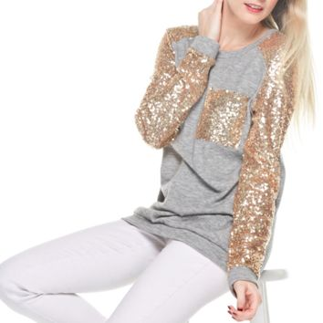 Sparkles SEQUIN Top