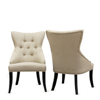 Design Studios Daphne Dining Chairs (Set of 2) - Natural