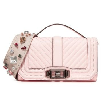 Phone Love Cross Body with Embellished Guitar Strap