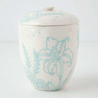 Anthropologie - Handpainted Vieque Canister