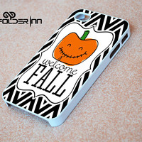 Halloween welcome fall iPhone 4s iphone 5 iphone 5s iphone 6 case, Samsung s3 samsung s4 samsung s5 note 3 note 4 case, iPod 4 5 Case