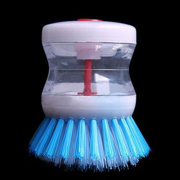 ICIK272 New Kitchen Pot Pan Dish Bowl Palm Wash Tool  Brush Scrubber Cleaning Cleaner 8BVR