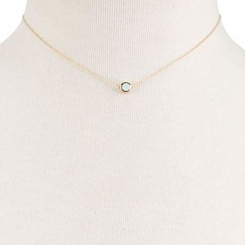 FULL TILT Moonstone Dainty Necklace