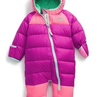 The North Face Infant Girl's 'Lil Snuggler' Water Resistant Down Bunting,