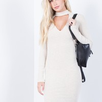 Hold Tight Sweater Dress