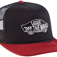 Vans Classic Patch Trucker Cap - Black / Rhubarb