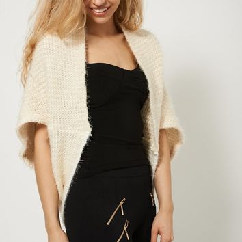 Warm Stylish Fluffy Feel Bolero