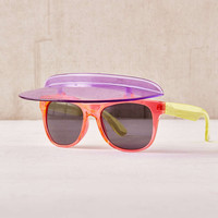 Colorblock Visor Shades - Urban Outfitters
