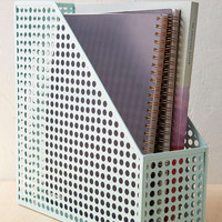Punched Tin Magazine Holder - Urban Outfitters