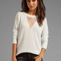 Bardot Jaxon Lurex Jumper in Ivory from REVOLVEclothing.com