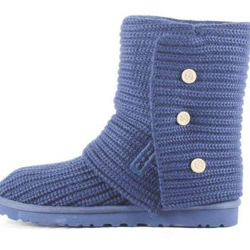 LNFNO UGG Australia for Women: Classic Cardy Peacoat Ankle Boot