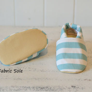 "Organic ""Nautical Stripe"" Shoes - NB to 4T"