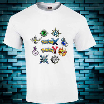 Pokemon X and Y - Pokemon X and Y t shirt youth - Pokemon X and Y shirt kids - tshirt adult unisex - Funny Tshirt