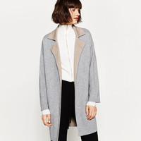 DOUBLE-SIDED COAT DETAILS