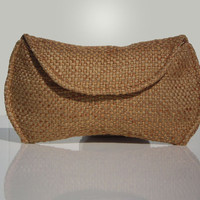 Free Shipping - Basketweave Sunglass Case for Oversized Sunglasses - 4 color options