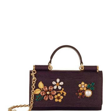 Dolce & Gabbana Embellished Phone Bag | Harrods.com