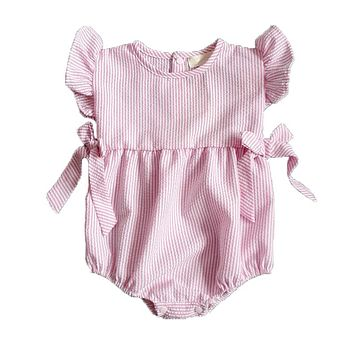 Baby Rompers Summer Baby Girl Clothes Cute Newborn Baby Clothes Cotton Baby Girl Clothing Set Roupas Bebe Infant Jumpsuits