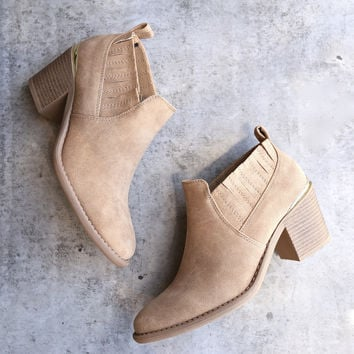 Maude - Nubuck Chelsea Ankle Boot