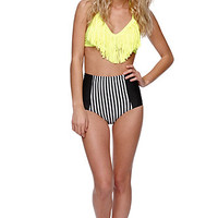 Kandy Wrappers Fringe Halter Top at PacSun.com