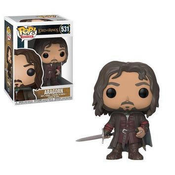Aragorn Funko Pop Lord of the Rings 12 Days of Daxie