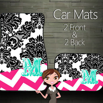 Custom Personalized & Monogrammed Car Floor Mats
