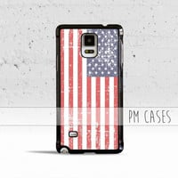 Grunge USA Flag Case Cover for Samsung Galaxy S3 S4 S5 S6 S7 Edge Plus Active Mini Note 3 4 5 7
