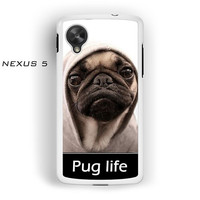 New Design Funny Hilarious Pug Life Parody fans For Nexus 4/Nexus 5 Phone case ZG
