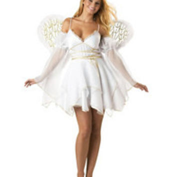 Charming Angel Costume With Wings