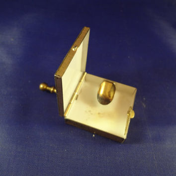 Portable Ashtray - Vintage Brass