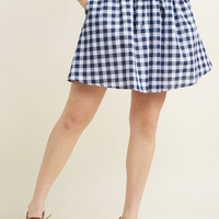 Adventurously Astir A-Line Skirt